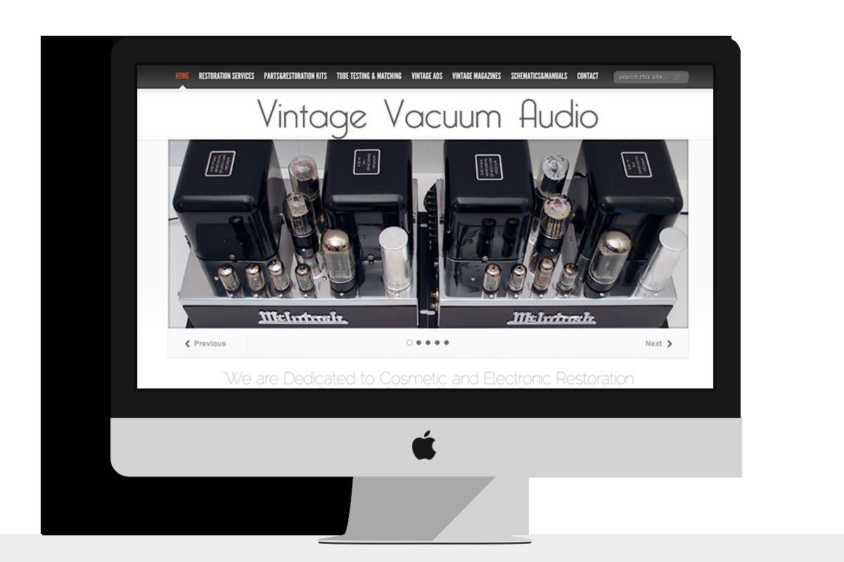 Vintage Vacuum Audio